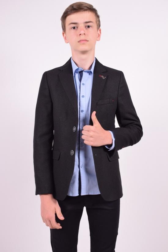Пиджак для мальчика (Hasir)  color 8500 Palmiro rossi Роста в наличии : 146,152,158,164,170 арт.4020