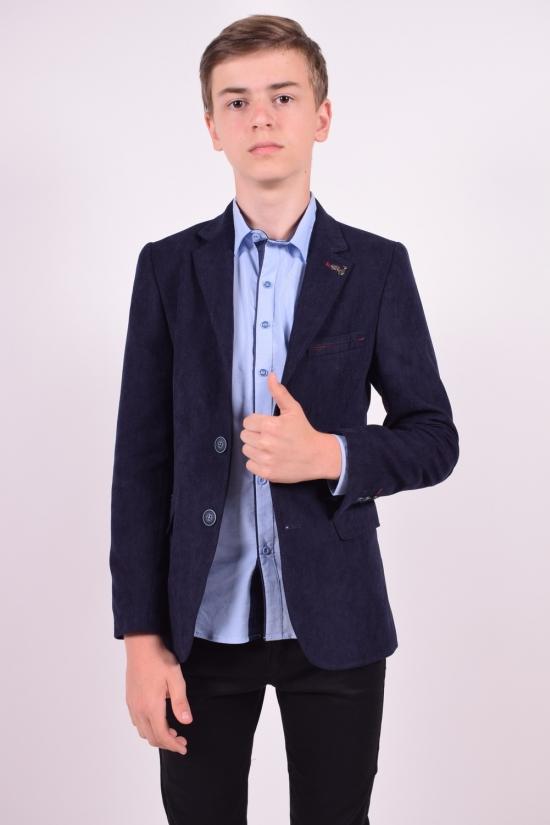 Пиджак для мальчика (ADA)  color 5610 Palmiro rossi Роста в наличии : 146,152,158,164 арт.4020