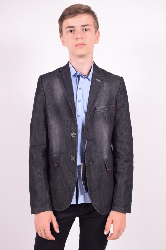 Пиджак для мальчика (Talin)  color Black  Palmiro rossi Роста в наличии : 140, 146, 152, 158, 164 арт.6050