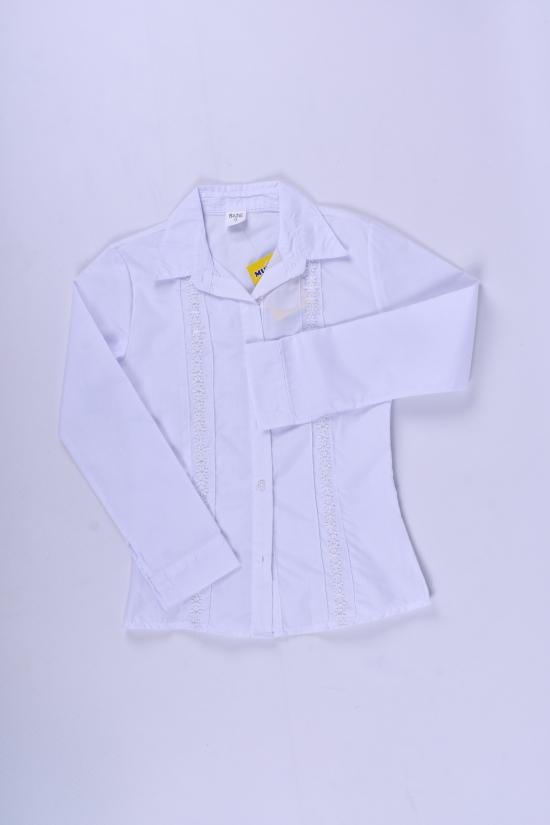 Блузка для девочки  длинный рукав Murdia Kids Роста в наличии : 122,128,134,140,146 арт.5314