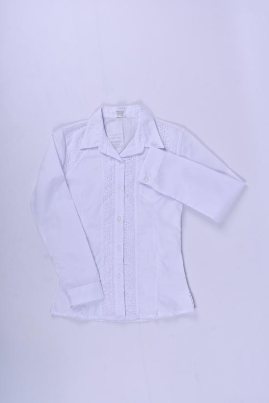 Блузка для девочки  длинный рукав Murdia Kids Роста в наличии : 122,128,134,140,146 арт.5316