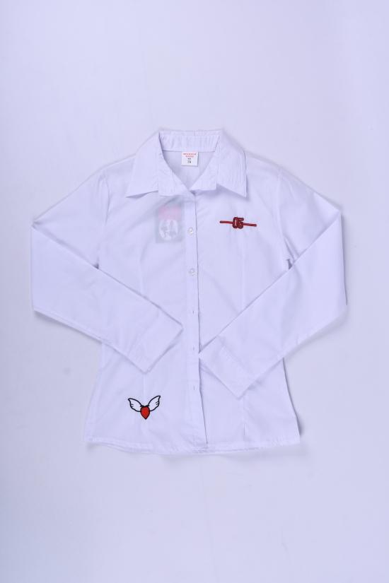 Блузка для девочки  длинный рукав Murdia Kids Роста в наличии : 122,128,134,140,146 арт.5327