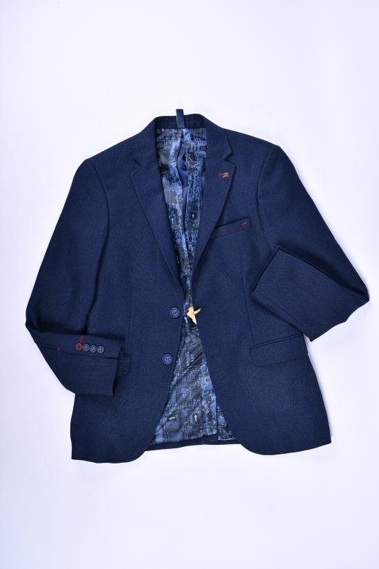 Пиджак для мальчика (Hasir)  color 10192 Palmiro rossi Роста в наличии : 152,158,164,170,176 арт.4020