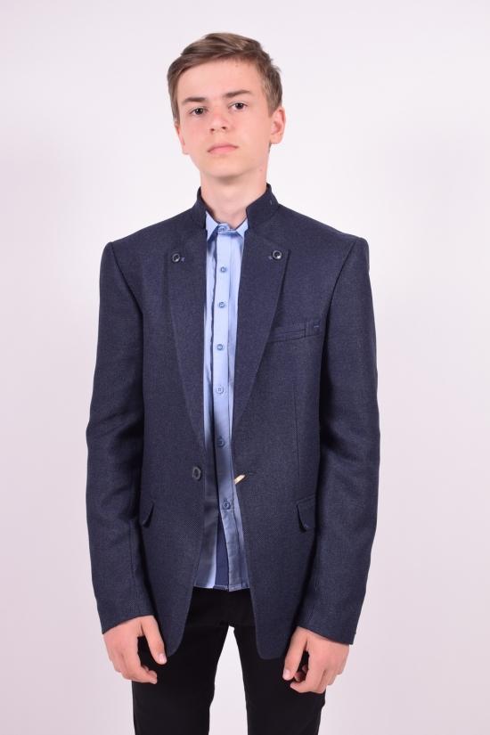 Пиджак для мальчика (Hasir) color 8490  Palmiro rossi Роста в наличии : 152,164,170,176 арт.5050