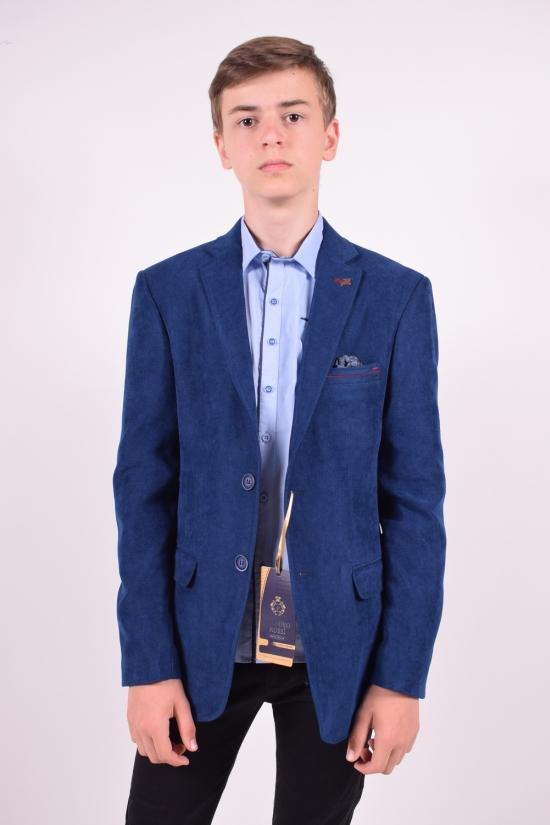 Пиджак для мальчика (ADA)  color 5624 Palmiro rossi Роста в наличии : 146,152,158,164,170,176 арт.4020