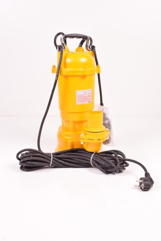 Насос фекальный MYTEC WQD 1200 1,2кВт (чугун) 10 м кабеля арт.WQD1200