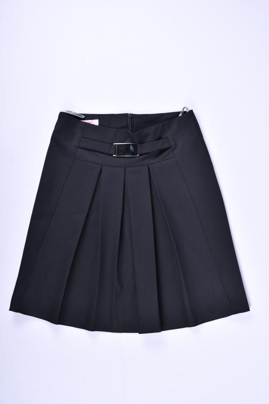 Юбка для девочки  (цв.черный) Slow Рост в наличии : 128, 164 арт.6891