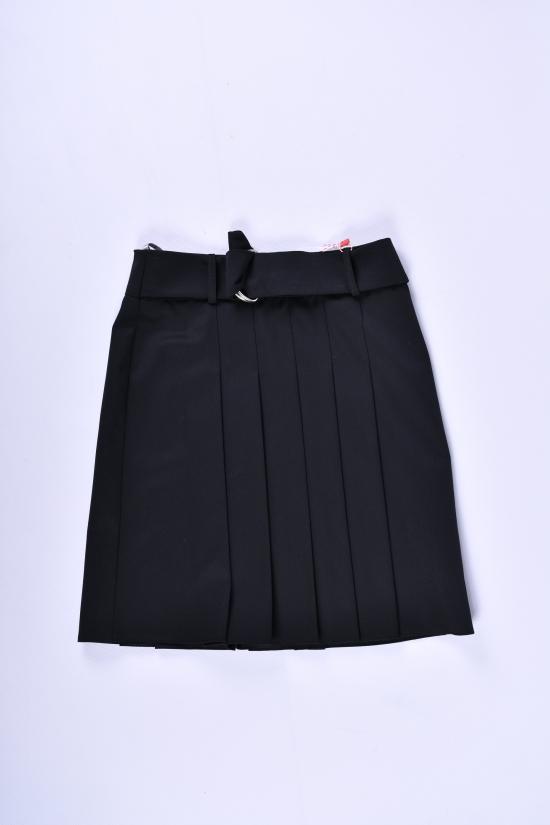 Юбка для девочки  (цв.черный) Slow Рост в наличии : 116, 128, 140, 152, 164 арт.6020