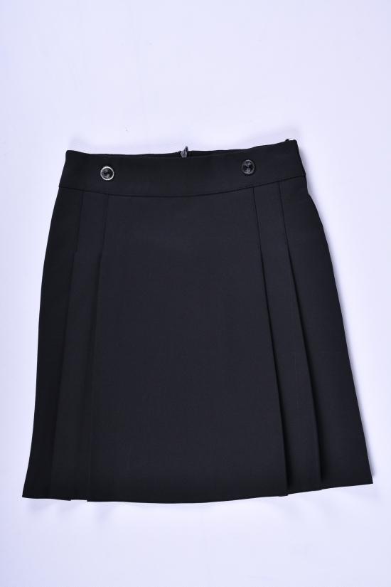 Юбка для девочки  (цв.черный) Slow Рост в наличии : 116, 128, 140, 164 арт.6026