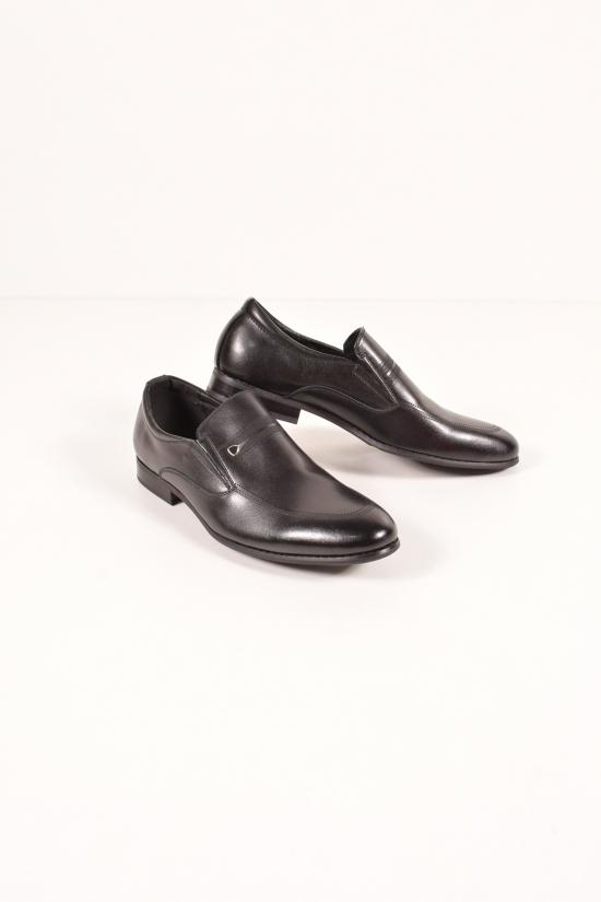 Туфли для мальчика из натуральной кожи  YALASOU Размеры в наличии : 38,39,41 арт.FBT350-1