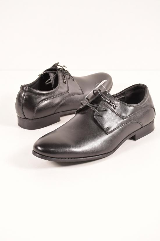 Туфли для мальчика из натуральной кожи  YALASOU Размеры в наличии : 36,37,38,39,40,41 арт.FBT353-1