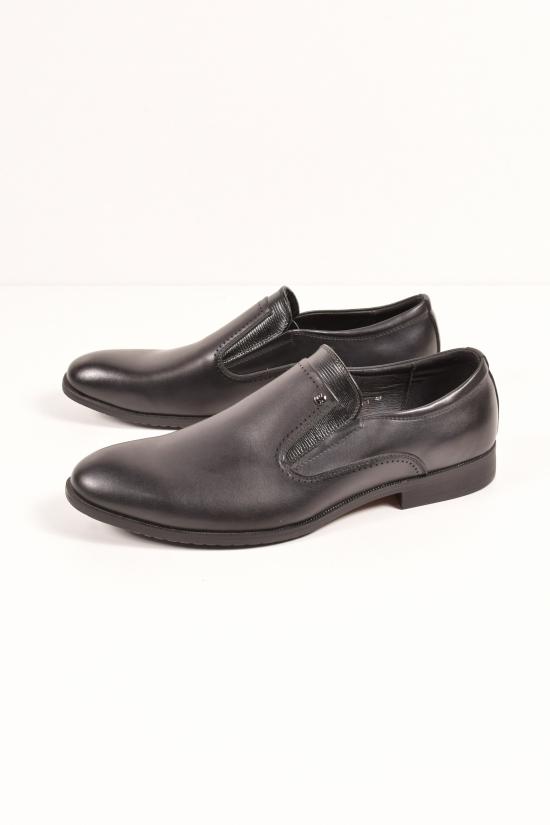 Туфли мужские из натуральной кожи  YALASOU Размеры в наличии : 47,48 арт.FBD5131-1