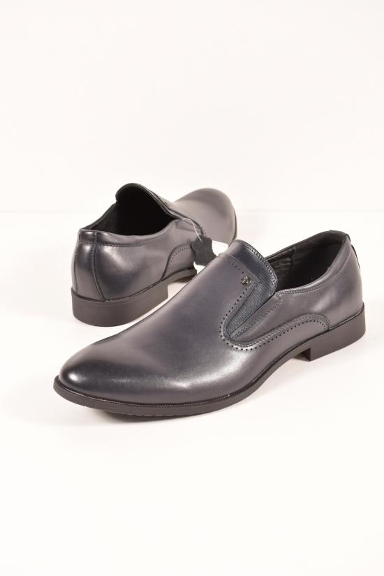 Туфли мужские из натуральной кожи  YALASOU Размер в наличии : 48 арт.FBD5131-2