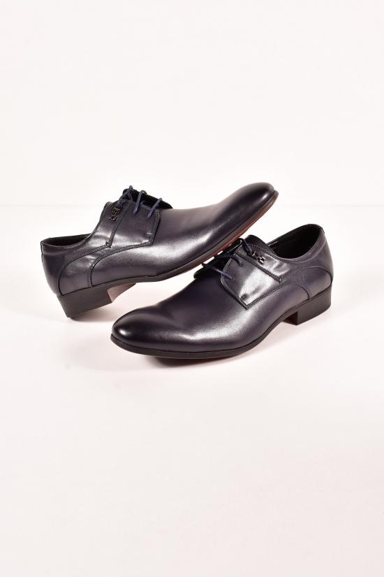 Туфли мужские из натуральной кожи  YALASOU Размеры в наличии : 42,43,45 арт.FB163-2