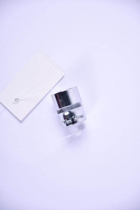 """Насадка шестигранная короткая 1/4"""" 14ммCrV ULTRA арт.6060142"""