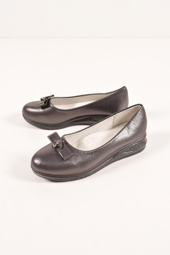 Туфли для девочки  KIMBOO Размеры в наличии : 32,33,34,35,36 арт.Y-5Q
