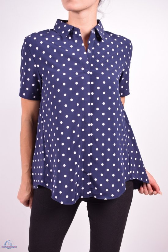 Блузка женская  стрейчевая  BASE Размеры в наличии : 42,44,46,48,50 арт.E1809