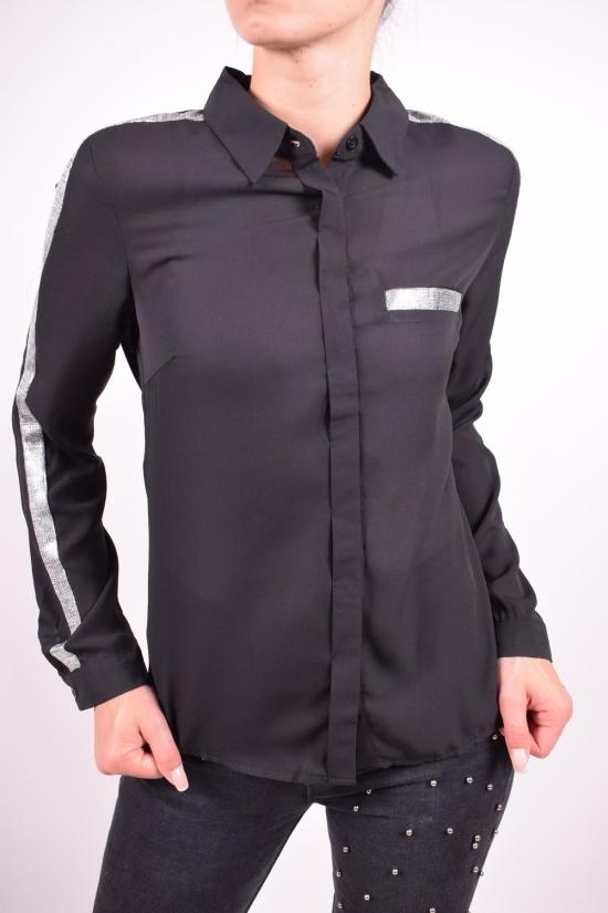 Блуза женская (цв.черный) Qianzhidu Размеры в наличии : 40,42,44,46,48 арт.50528
