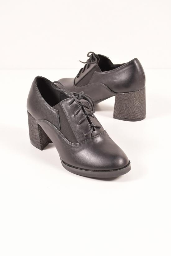 Туфли женские  (цв.черный) Meideli Размеры в наличии : 36,37,38,40 арт.EA77-22