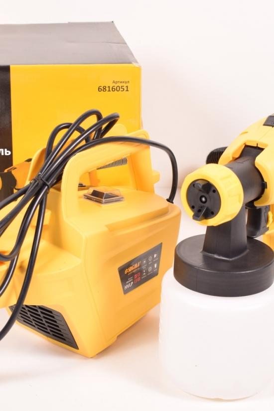 Краскораспылитель электрический  HVLP  800Вт  1,8/2,6мм  900мл/мин  н/б арт.6816051
