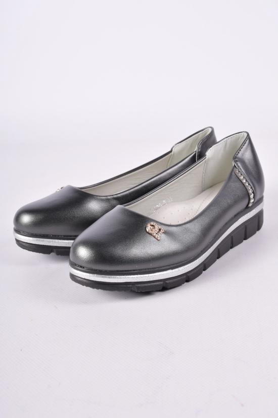 Туфли для девочки W.niko Размеры в наличии : 32, 33, 35, 36 арт.3390-6