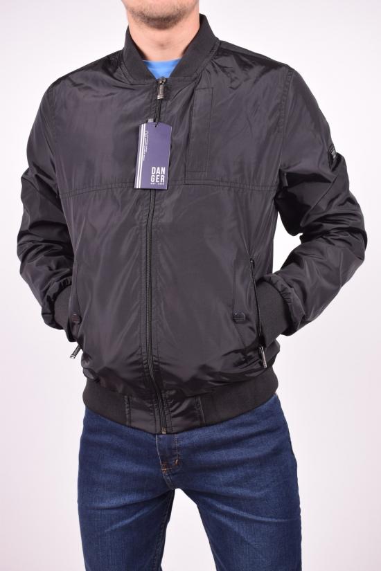 Ветровка мужская из плащёвки (цв.черный) DANGER Размеры в наличии : 44,46,48,50,52 арт.2305