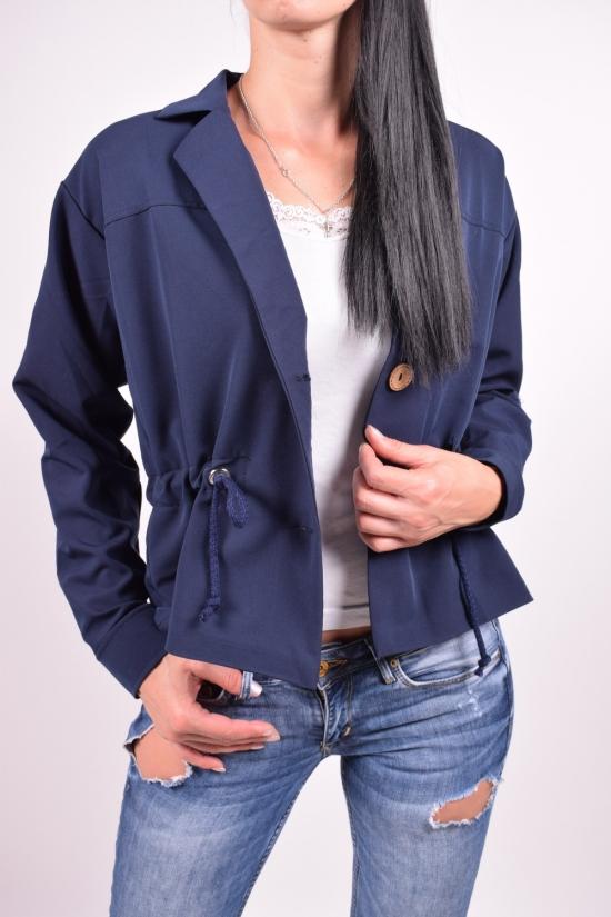 Пиджак женский (цв.т.синий) Размеры в наличии : 44,48,50 арт.838