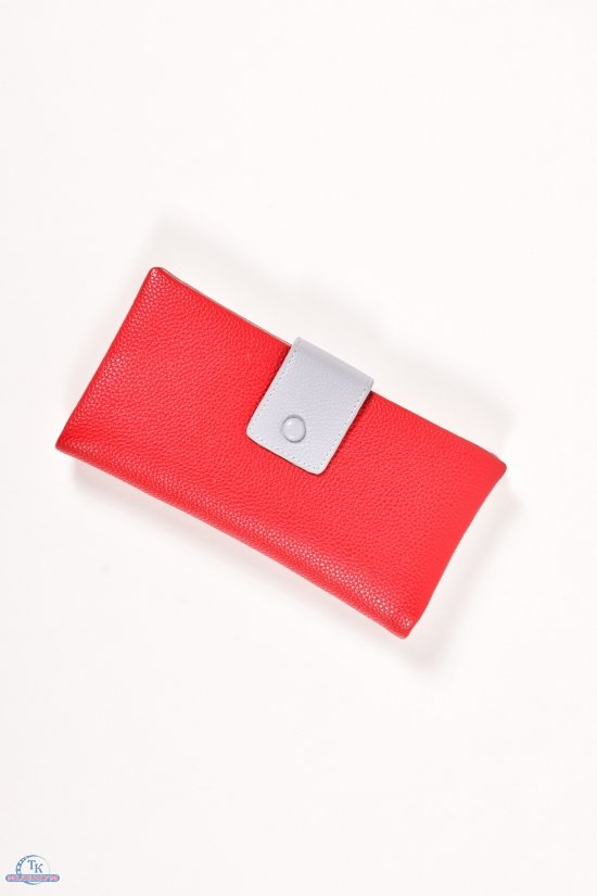 Кошелёк женский (цв.красный)  размер 20/10см SARALYN арт.3-6132