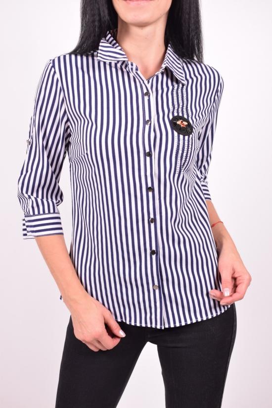 Рубашка женская стрейчевая Base Размеры в наличии : 42,44,46,48,50 арт.B6278