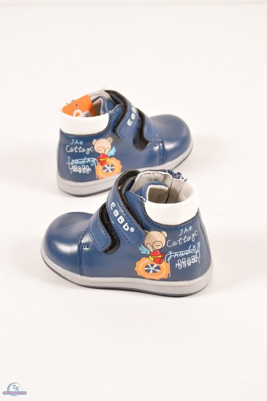 Ботинки для мальчика демисезонные EeBb Размеры в наличии : 21,22,23,24,25,26 арт.D59-2