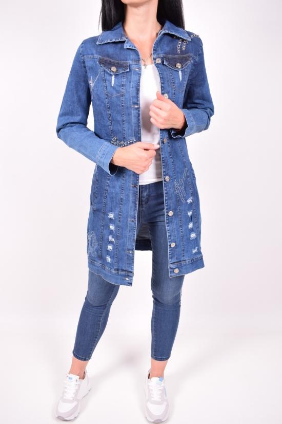 Пиджак женский джинсовый Zahram Размер в наличии : 42 арт.423