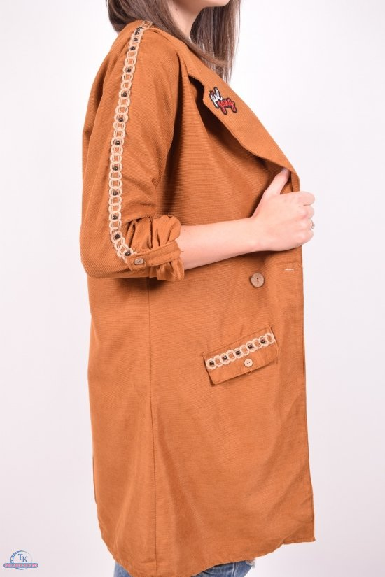 Кардиган женский (цв.коричневый) Gem Volante Размеры в наличии : 40,44,46 арт.1012