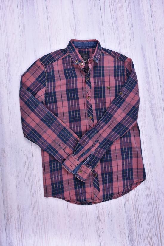 Рубашка мужская котоновая  TRICKO Размеры в наличии : 42,44,50 арт.9GM-KT-E-00008