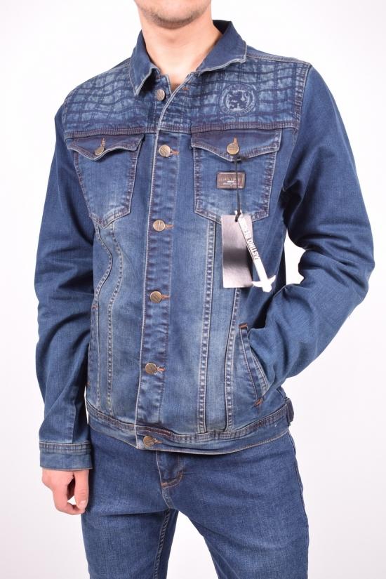 """Пиджак джинсовый мужской (R01) """"BigCastino"""" Размеры в наличии : 42,44,48 арт.2022"""