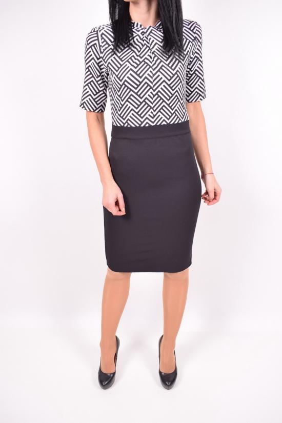 Платье женское (цв.черный)  Wind (Lycra 5%,Polyamide 50%,Viscose 45%) Размеры в наличии : 40,42,44,46 арт.048-1009