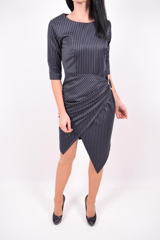 Платье женское (т.синий)  Esta Line (Elastane 15%,Polyester 50%,Viscose 35%) Размер в наличии : 48 арт.045-1447