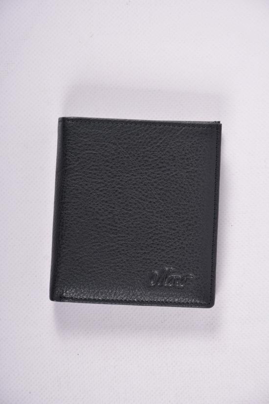 Кошелёк  мужской (цв.черный) размер 10/9 см Moro арт.508