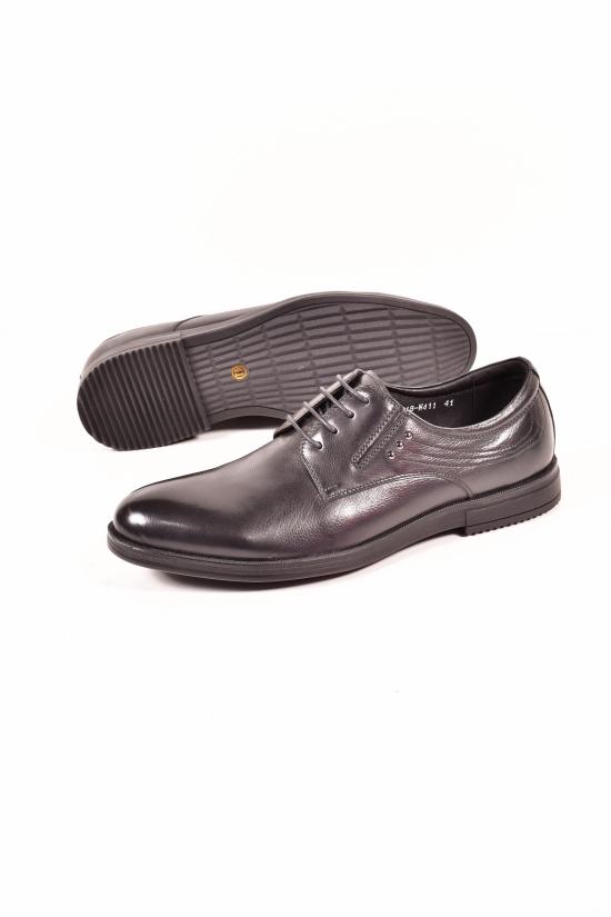 Туфли мужские из натуральной кожи NEW JIANSAN Размеры в наличии : 40, 42 арт.W411