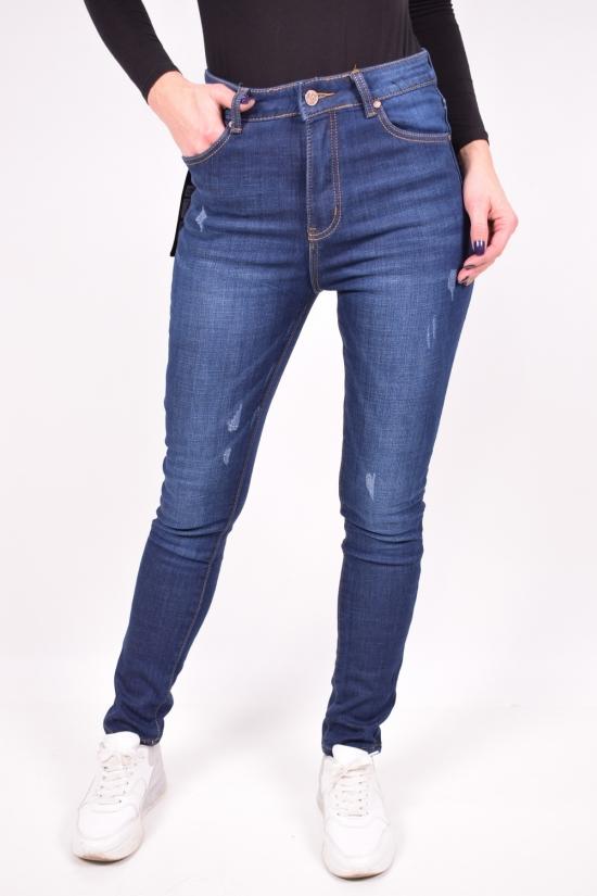 Джинсы  женские стрейчевые на флисе  NewJeans Размеры в наличии : 25,26,28,29,30 арт.D3553
