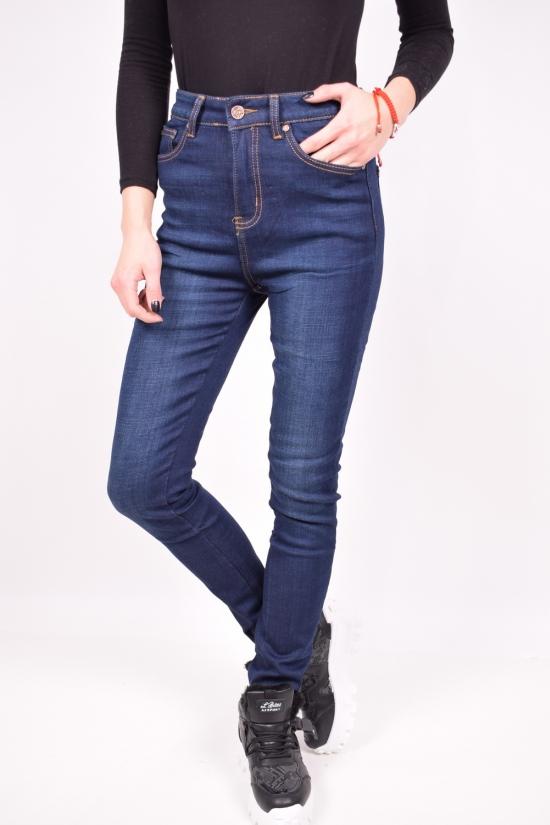 Джинсы  женские стрейчевые на флисе  NewJeans Размеры в наличии : 25,26,27,28,29,30 арт.D3557
