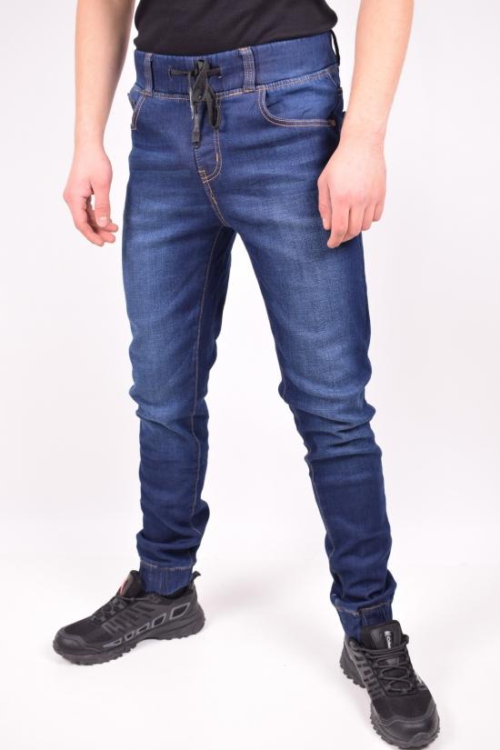 Джинсы мужские стрейчевые на флисе  NewJeans Размеры в наличии : 28,29,30,31,32,33,34,36 арт.D3506