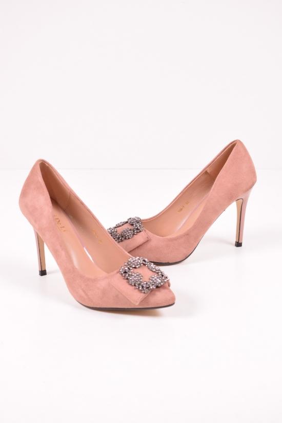 Туфли женские (цв.nude) Meideli Размеры в наличии : 36,37,38,39,40 арт.108-3