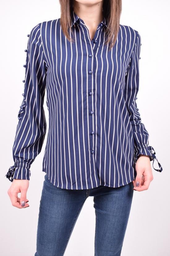 Рубашка женская стрейчевая (цв.синий) C.got Размеры в наличии : 42,44,46,48 арт.A7650