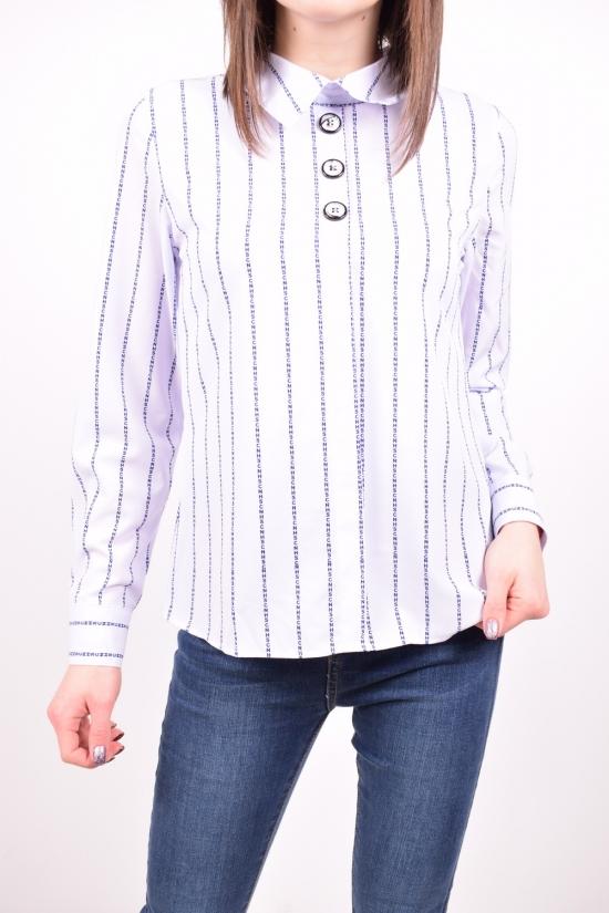 Рубашка женская стрейчевая (цв.белый) C.&ot Размеры в наличии : 42,44,46,48,50 арт.A1576