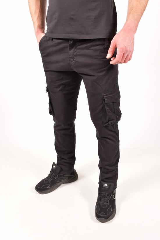 Джинсы мужские стрейчевые (цв.черный) Blackzi Размеры в наличии : 33,36,38,40,42 арт.8020