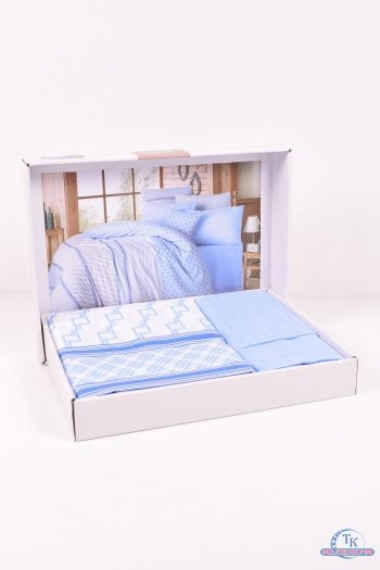 Комплект постельного белья Impexi размер 200/220 см + 2 шт. наволочки 50/70 см арт.Fiore V1