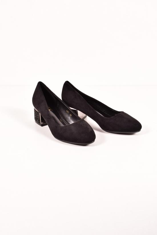 Туфли женские (цв.черный) Gukkcr Размеры в наличии : 36,38,39,40 арт.4071