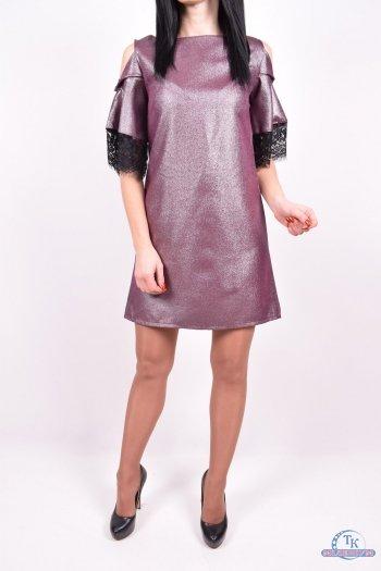 Платье женские стрейчевое (цв.бордовый) Exclusive Размеры в наличии : 42,44,46,48 арт.618
