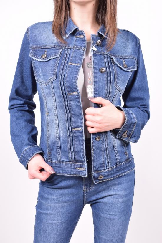 Пиджак женский джинсовый X&D FASHION Размер в наличии : 44 арт.L004