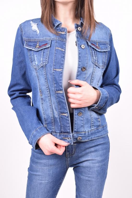 Пиджак женский джинсовый X&D FASHION Размеры в наличии : 38,40,42,44,46 арт.L003
